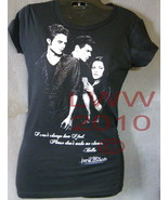 X-Large Junior's Black Bella's Quote Twilight New Moon Shirt NEW - $6.95