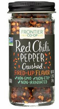 Frontier Co Op, Red Chili Pepper Crushed, 1.2 oz, flakes, peppers, kosher - $8.99