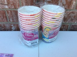 Lot of 2 Disney Princess Birthday Party 8 cups 9 oz Cups - $6.99