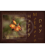 'Happy Mother's Day' - 5x7 Greeting Card w/ Envelope - $2.99