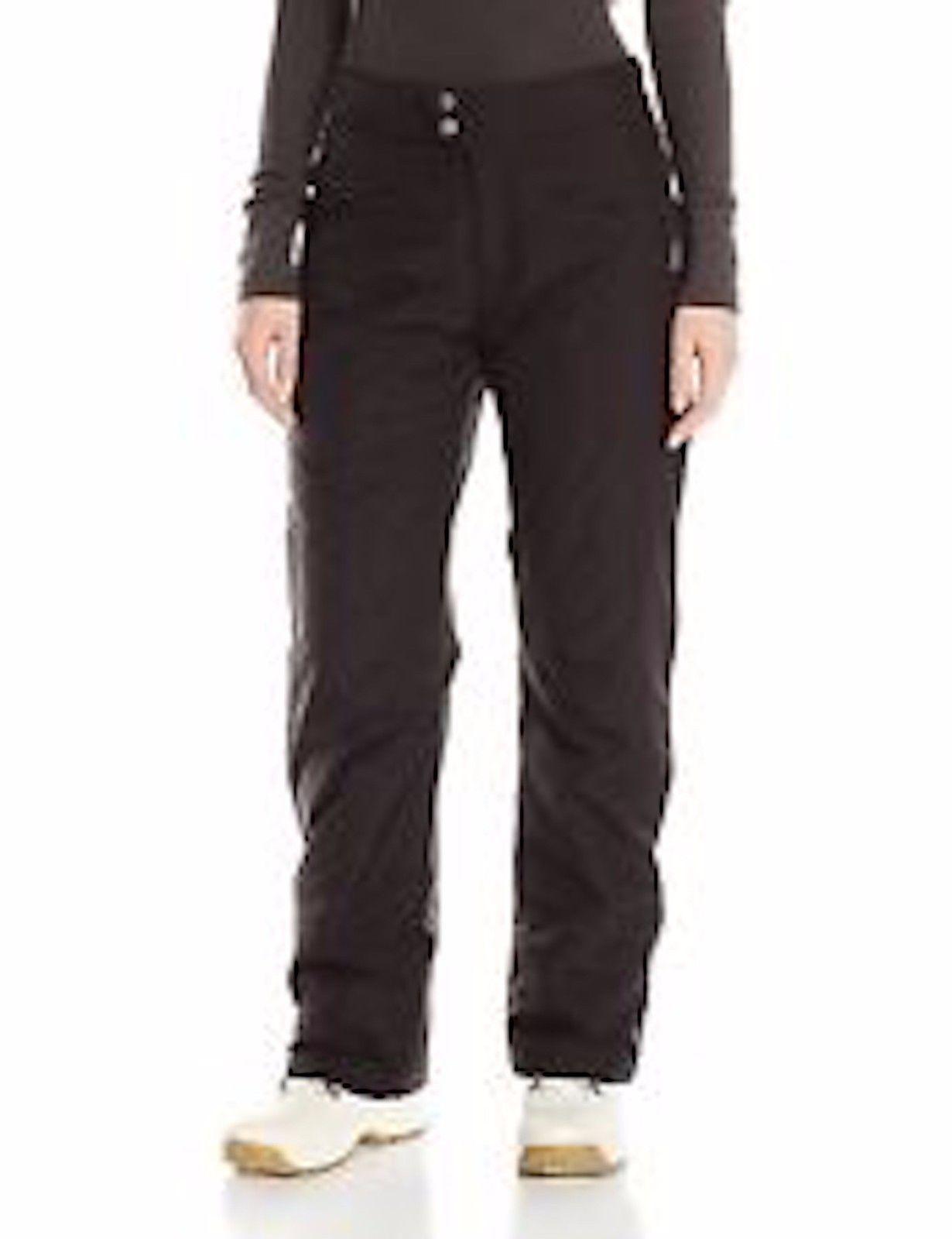 White Sierra Women's 29-inch Inseam Slider Insulated Pant: Black Medium