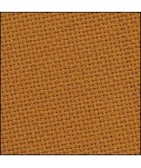 Tobacco 22ct Hardanger 36x21 (1/2yd) cross stitch fabric Wichelt - $14.40