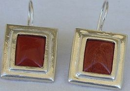 Blood stones earring D  - $30.00