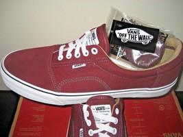 Vans Mens Geoff Rowley Solos Port Royale White Canvas Suede Skate Shoes ... - $56.37