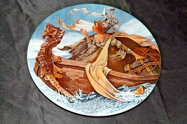 """""""The Man of Law's Tale"""" Commemorative Collector's Plate AA20-CP2278 Vintage"""