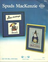 Spuds MacKenzie / Cross Stitch Pattern Leaflet   - $7.95