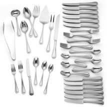 Lenox Shelby Flatware 92 Piece Set Service For 12 Stainless 18/10 NEW - $296.90