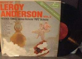 Frederick Fennell - Music of Leroy Anderson Vol 2 - Mercury Records MG50... - $2.50