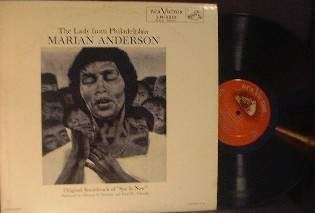 The Lady from Philadelphia MARIAN ANDERSON - RCA Victor LM-2212
