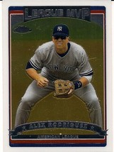 2006 Topps Chrome New York Yankees Baseball Card #272 Alex Rodriguez - $3.00