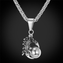 U7 Punk Mens Necklace & Pendant Occult Satanic Jewelry Stainless Steel Gold Colo - $19.60