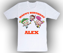 Personalized Fairly Odd Parents Birthday T-Shirt Gift  - $14.99
