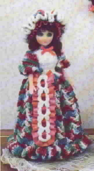 TD Creations Julie and Accessories Crochet Musical Fragrance Doll