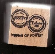 Primary image for Tiolene gasoline logo Rubber Stamp  made in america free shipping twins of power