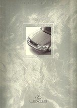 1991 Lexus LS 400 sales brochure catalog 91 US LS400 Celsior - $12.00