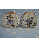 Salt Pepper Set Mexico Palomar Tonala Bluebird Ken Edwards - $24.00