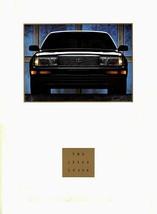 1992 Lexus LS 400 sales brochure catalog 92 US LS400 Celsior - $12.00