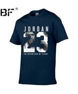 Jordan 23 Men T-shirt Swag T-Shirt Cotton Print Men Women Shirt - $16.99
