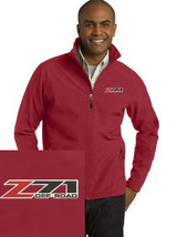 Chevy Z71 Maroon Embroidered Port Authority Core Soft Shell Jacket NEW - $39.99