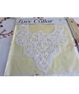 Battenburg Lace Collar 1993 Daisy Kingdom For Simplicity NIP White Unopened - $18.00
