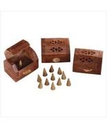 Shesham Wood Incense Box - $25.00