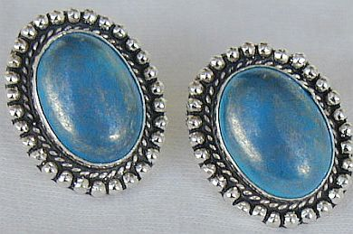 Blue Mali earrings