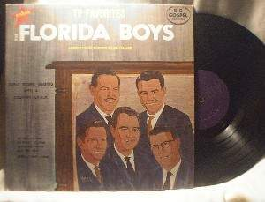 Florida Boys - TV Favorites - Big Gospel Records BG-SLP 114