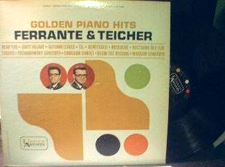 Ferrante & Teicher - Golden Piano Hits - United Artists UAS 6269
