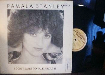 Pamala Stanley - I Don't Want To Talk About It - Komander Records KR-1001