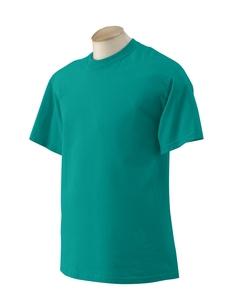 2XL Jade Dome Green Gildan G2000 T-shirt Preshrunk cotton 2000