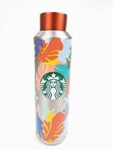 Starbucks Summer 2020 Vacuum Insulated Silver Stainless Steel Water Bottle 20 oz - $29.95