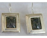 Malaysian agate earrings thumb155 crop