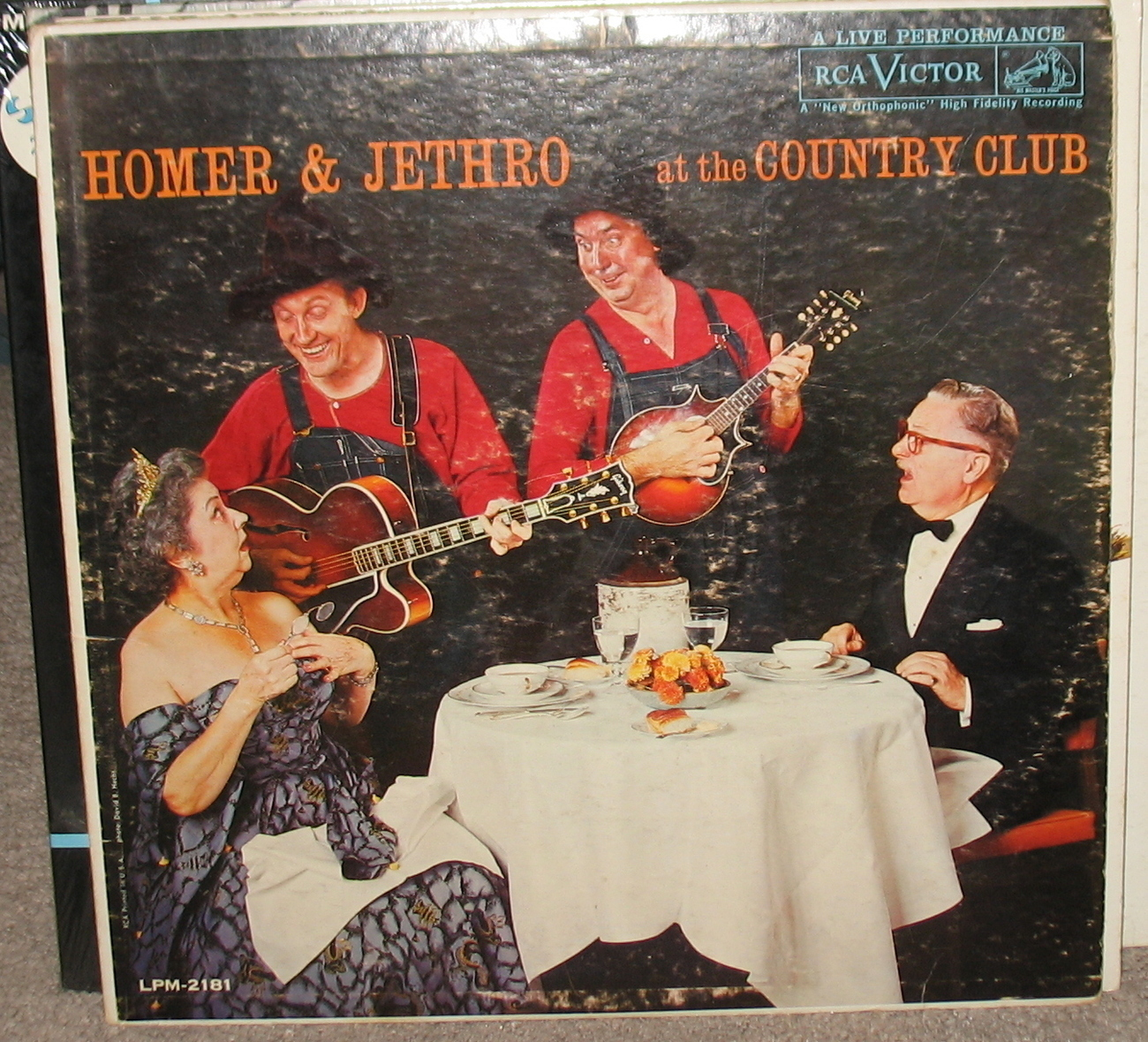 Homer & Jethro at the Country Club LP LSP 2181