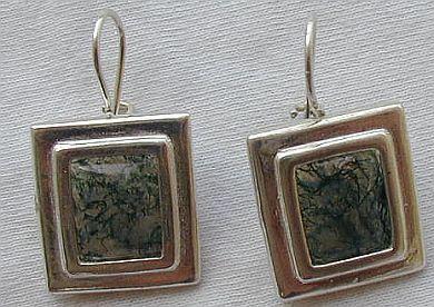 Malaysian agate earrings