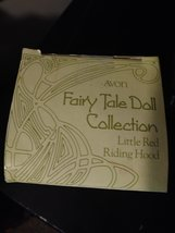 AVON Fairy Tale Little Red Riding Hood Porcelain Doll Collection w/Box 1985 Crea image 5