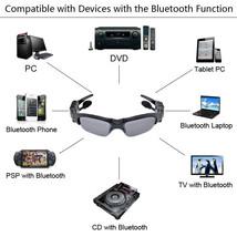 Bluetooth Sunglasses 8GB Memory card DV DVR Video Camera MP3 Player high resolut - $109.99