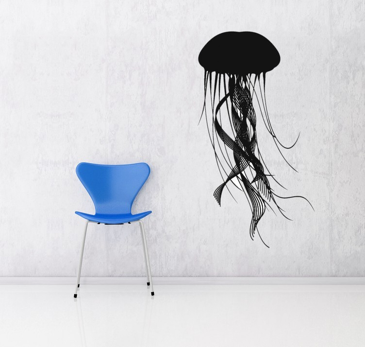 Primary image for Jellyfish - Vinyl Wall Art Decal