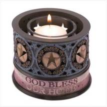 God Bless Our Home Votive Holder, Heartstone by Demdaco, New in Box - $12.50