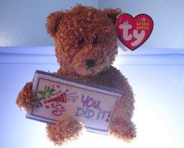 You Did It Ty Beanie Baby MWMT 2006 - $4.99