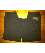 And1 And 1 One Basketball Hip Hop Urban Black Sweatpants Sweat Pants 3xl... - $24.99