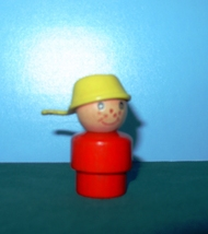 VTG.FISHER PRICE LITTLE PEOPLE #192 RED BODIED ... - $15.00