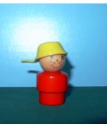 VTG.FISHER PRICE LITTLE PEOPLE #192 RED BODIED PANHANDLE BOY - $15.00