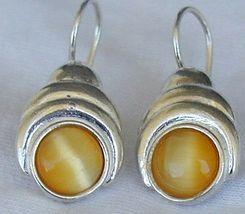 Deep yellow earrings - $28.00