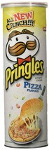 Pringles Pizza Flavour 110 grams 3.8 oz Vegetarian Potato Crisps Chips W... - $9.25+