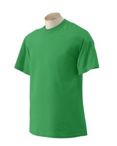 Jade Dome Green Large Gildan 200G T-shirt Preshrunk cotton 2000 image 2
