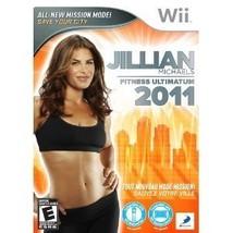 Jillian Michaels Fitness Ultimatum 2011 (Nintendo Wii) NEW - $12.99