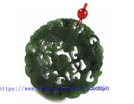 Free Shipping - I hope you're lucky handmade gift Natural Green jadeite jade car - $26.99