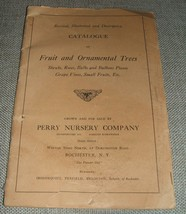 1916 Catalogue of Fruit and Ornamental Trees Revised Illustrated and Des... - $19.80