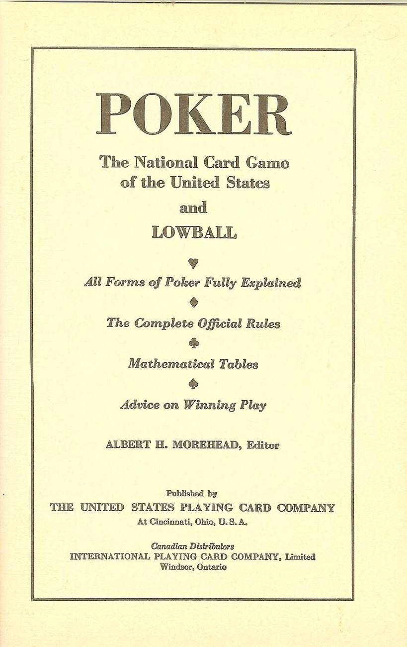poker the nations most fascinating card game albert morehead image 2