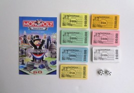 Monopoly Here & Now Instructions Money Dice Only Hasbro 2006 Play Fun Toy - $8.81